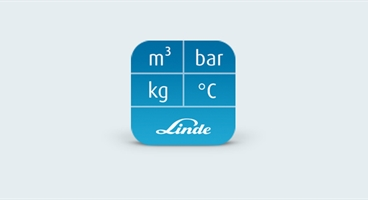 This is the icon for Linde´s Gas Converter APP